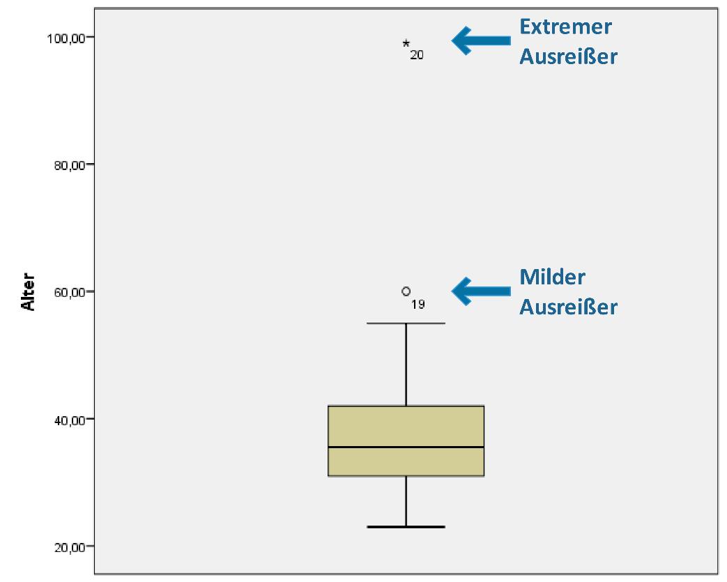 Ausreißer Boxplot in SPSS erstellen