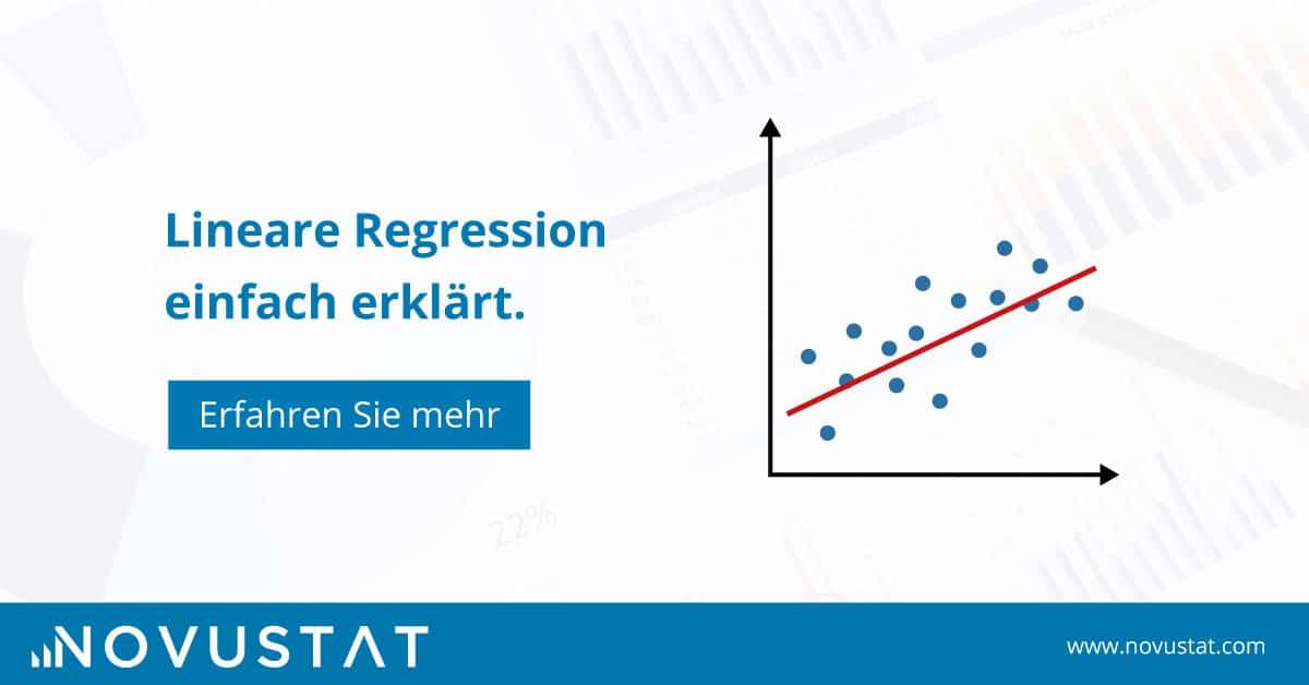 Der Klassiker lineare Regression einfach erklärt - Herleitung und Anwendungsbeispiele