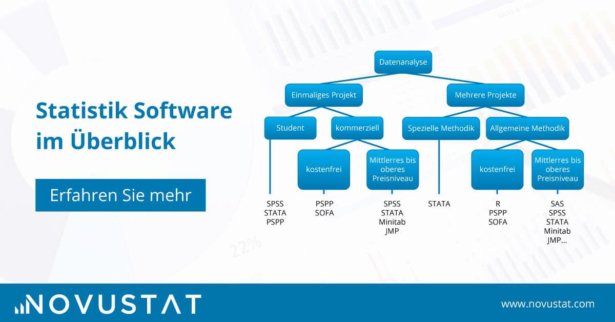 Wie man das optimale Statistikprogramm findet: Statistik Software im Überblick