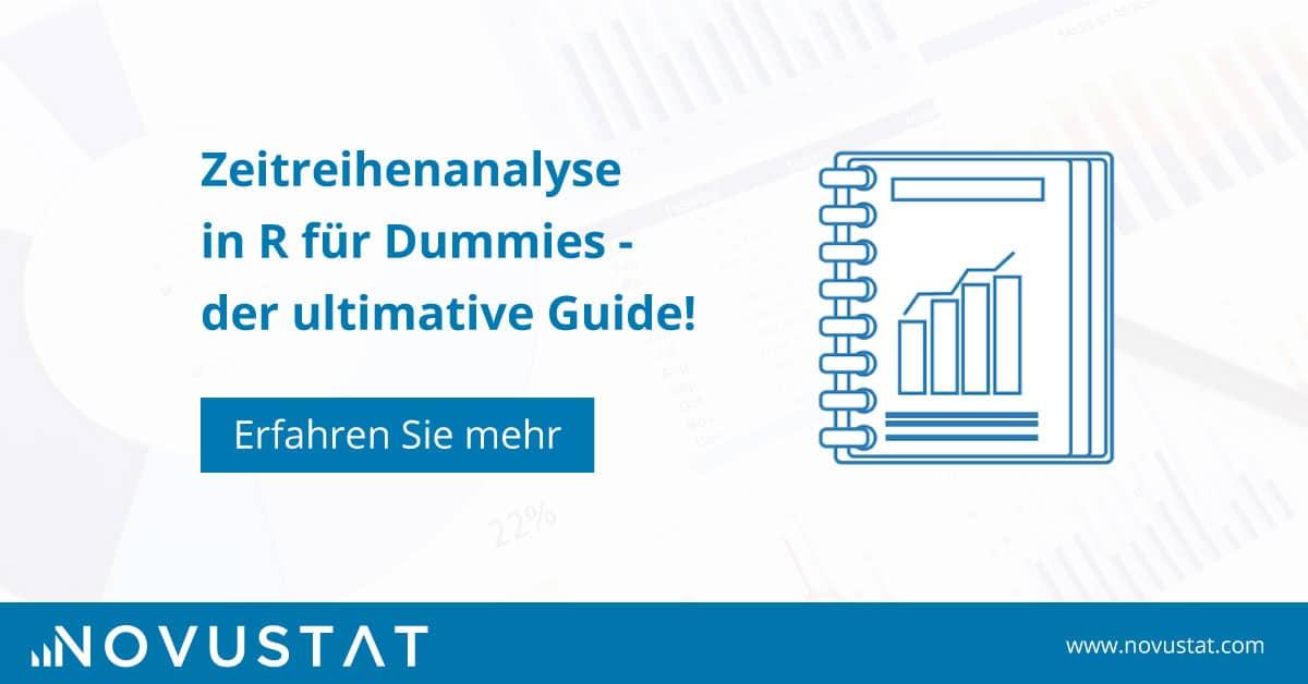 Zeitreihenanalyse für Dummies in R – der ultimative Guide!