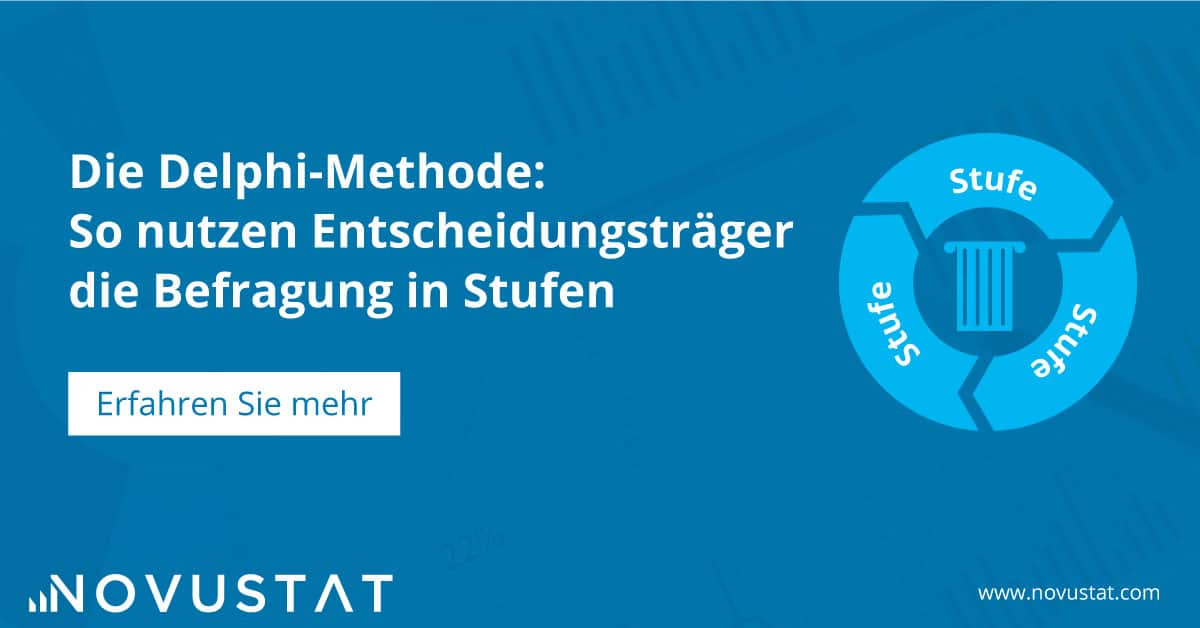 Die Delphi Methode - Befragung in Stufen