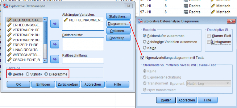 Explorative Datenanalyse: Shapiro-Wilk Test in Excel berechnen